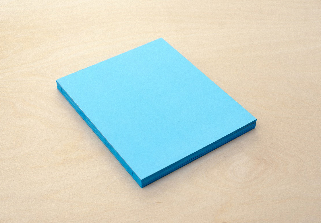 A Pure Blue§made in collaboration with Oliver Long, shortlisted for the Unseen Photobook Dummy Award 2014