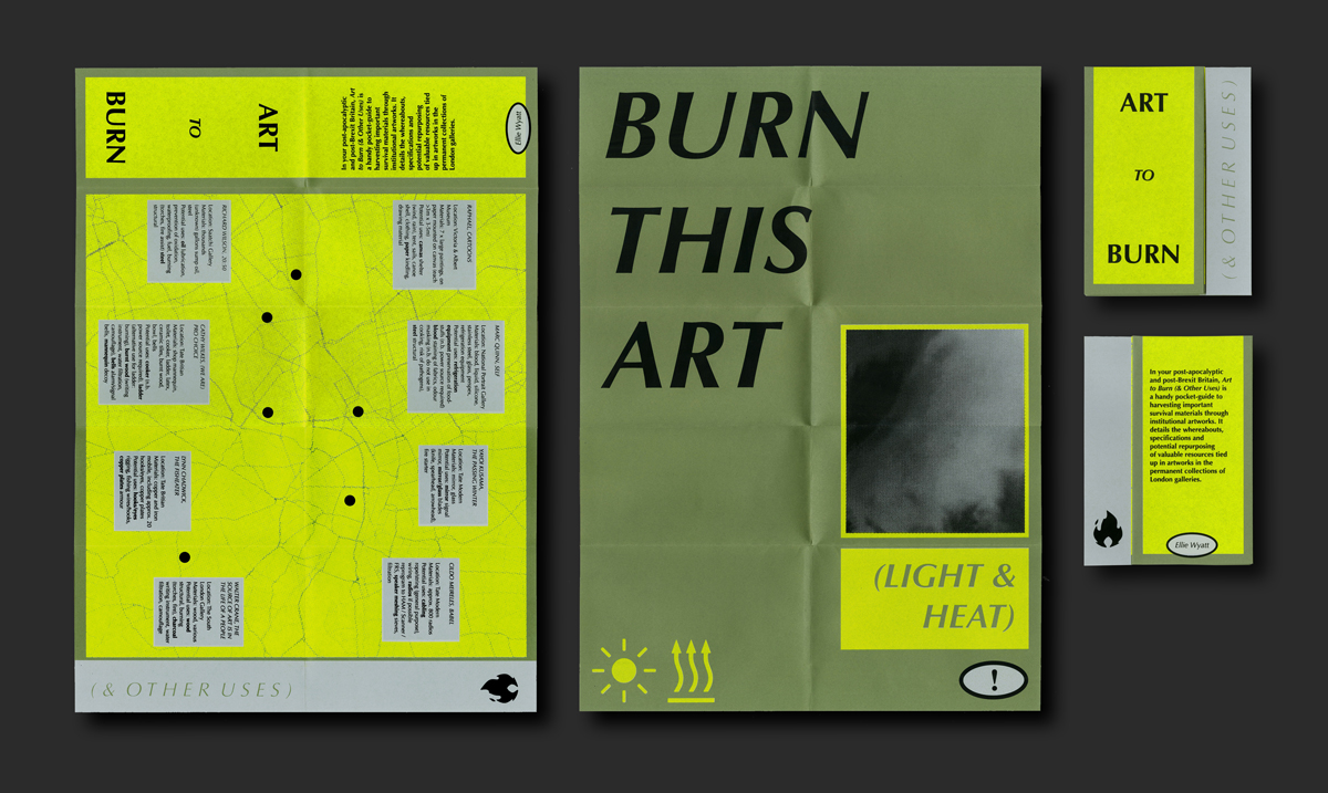 Art to Burn (& Other Uses)§screenprinted publication, made for SWAP Edition No.4: BREX-kit, 2019
